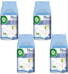 Air Wick Freshmatic Bawełna i Kwiat Migdałowca Wkład 4 x 250ml