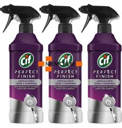 Cif Perfect Finish do Usuwania Kamienia z Łazienki Spray 3 x 435ml
