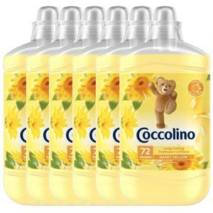 Coccolino Happy Yellow Płyn do Płukania 432pr 6 x 1,8L