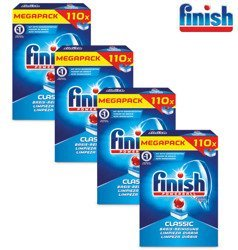 Finish Classic Tabletki do Zmywarki 4 x 110= 440szt DE