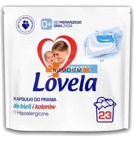 Lovela Baby Hipoalergiczne Kapsułki do Prania dla Dzieci 23szt