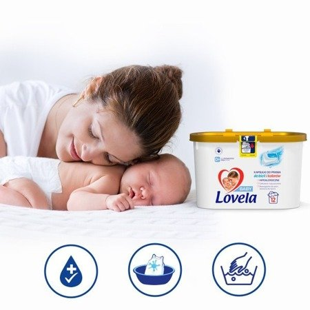 Lovela Hipoalergiczne Kapsułki do Prania dla Dzieci 48 szt