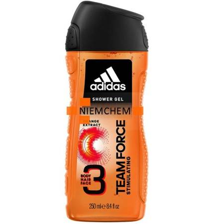 Adidas Team Force 3w1 Męski Żel pod Prysznic 250ml UK