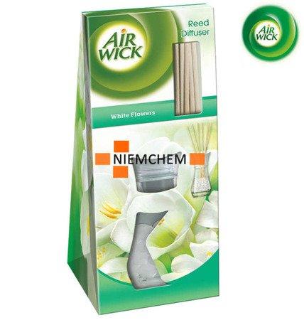 Air Wick Białe Kwiaty Patyczki Zapachowe 25ml WYPRZEDAŻ