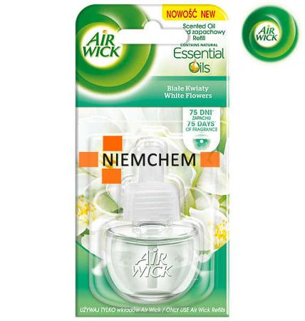 Air Wick Electrical Białe Kwiaty Odświeżacz 19ml Wkład