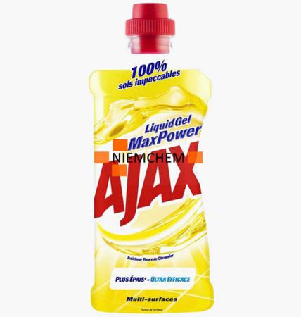 Ajax MaxPower Citron Płyn Mycia Podłóg 750m BE