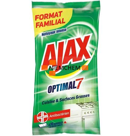Ajax Optimal Chusteczki Czyszczące do Kuchni 70szt FR