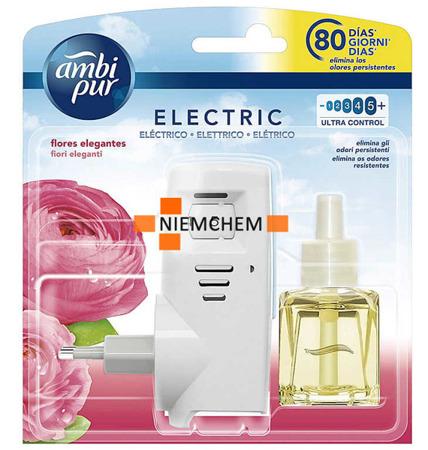 Ambi Pur Electric Flores Elegantes Urządzenie + Wkład. Zestaw