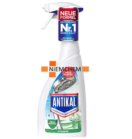 Antikal Hygiene Spray do Usuwania Kamienia z Łazienki 700ml DE