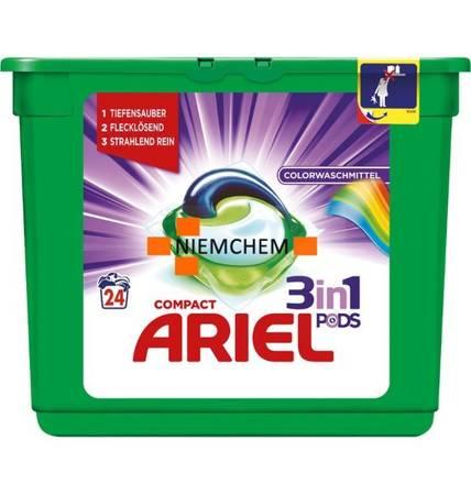 Ariel 3-in-1 Pods Color Kapsułki do Prania 24szt DE