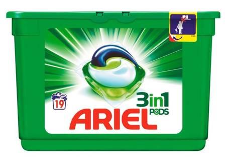 Ariel 3-in-1 Pods Regular Kapsułki do Prania 19szt BE