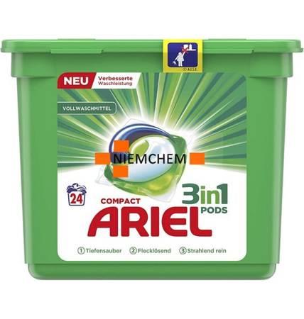 Ariel 3-in-1 Pods Regular Kapsułki do Prania 24szt DE