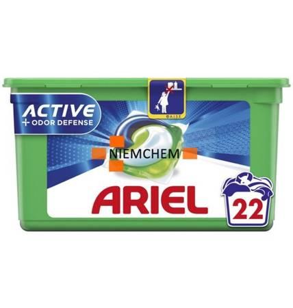 Ariel 3in1 Odor Defense Kapsułki Prania 22szt FR