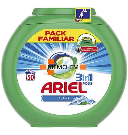 Ariel Alpine Pods Kapsułki Prania 3w1 50szt ES