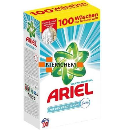 Ariel + Febreze Proszek Perfumowany 100pr 6,5kg DE