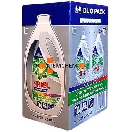 Ariel PRO Color Żel Prania Kolor 2 x 55pr 6,05L DE WYPRZEDAŻ