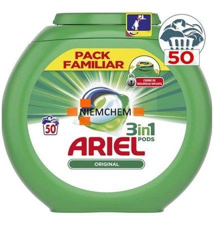 Ariel Universal Pods Kapsułki Prania 3w1 50szt ES