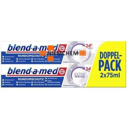 Blend-a-Med Extra Pasta Zębów Wybielająca 2szt DE
