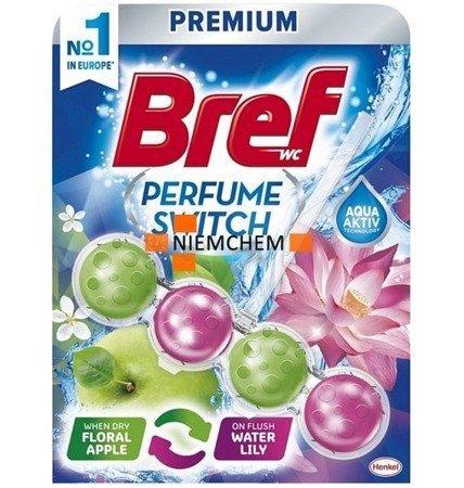 Bref Perfume Switch: Brzoskwinia Jabłko Zawieszka Kulki do Wc 50g WYPRZEDAŻ
