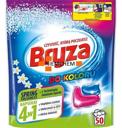 Bryza 4w1 Kapsułki do Prania Koloru Spring Freshness 50szt