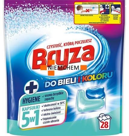 Bryza 5w1 Hygiene Kapsułki do Prania Bieli i Koloru 28szt