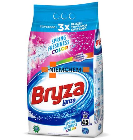 Bryza Lanza Spring Freshness Color proszek 60pr 4,5kg WYPRZEDAŻ