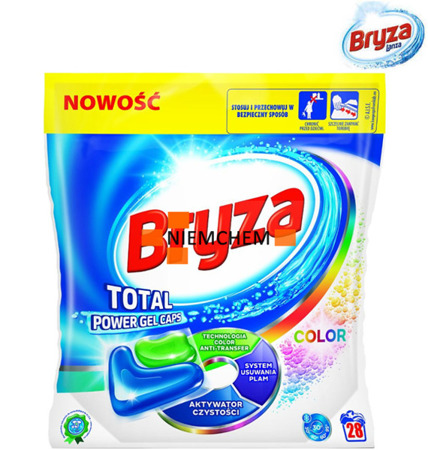 Bryza Lanza Total Power Color Kapsułki do Prania 28szt