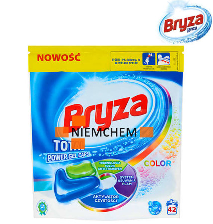 Bryza Lanza Total Power Color Kapsułki do Prania 42szt