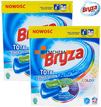 Bryza Lanza Total Power Color Kapsułki do Prania 84szt