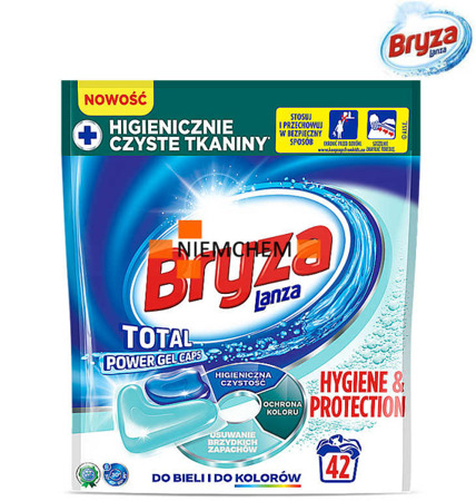 Bryza Lanza Total Power Hygiene & Protection Universal Kapsułki do Prania 42szt