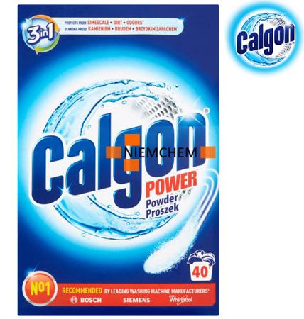 Calgon Proszek 3w1 Odkamieniacz do Pralki 1kg 40pr