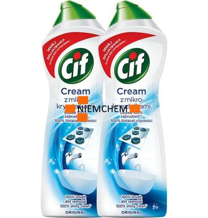 Cif Cream Original Mleczko do Czyszczenia 2 x 780g
