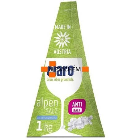 Claro Alpen Salz Alpejska Sól do Zmywarki 1kg ECO DE