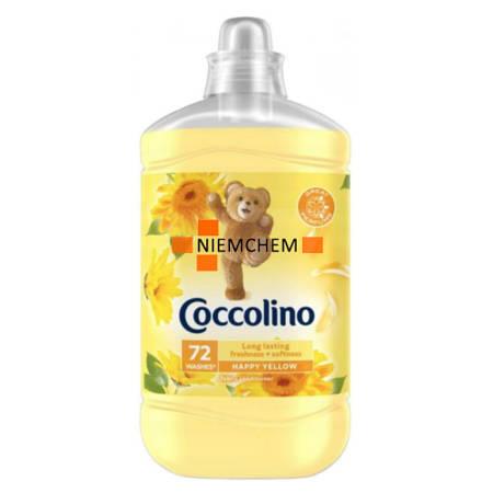 Coccolino Happy Yellow Płyn do Płukania 1,8L 72pr