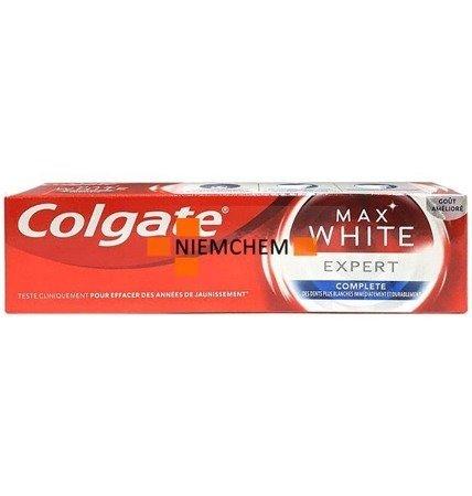 Colgate Max White Expert Pasta do Zębów 75ml FR WYPRZEDAŻ