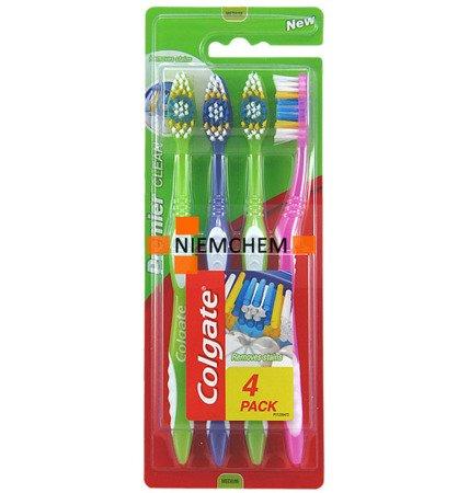Colgate Premier Clean Medium Szczoteczka do Zębów 4szt UK