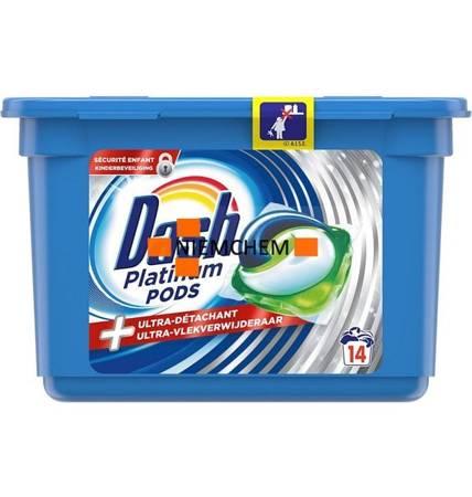 Dash Platinum Plus Kapsułki do Prania 14szt BE