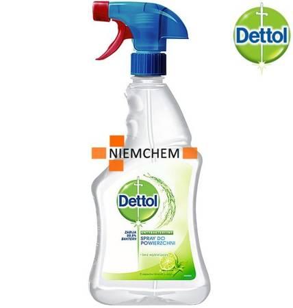 Dettol Antybakteryjny Spray Powierzchni Lime 500ml