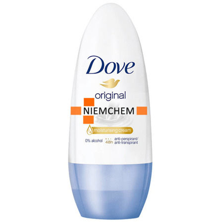 Dove Original Roll On Damski Antyperspirant w Kulce 50ml DE