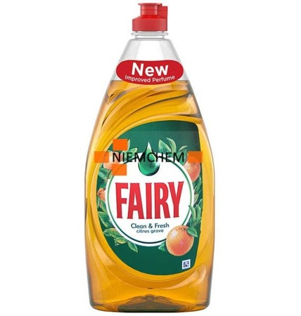 Fairy Clean Fresh Citrus Grove  Płyn do Naczyń 520ml UK WYPRZEDAŻ