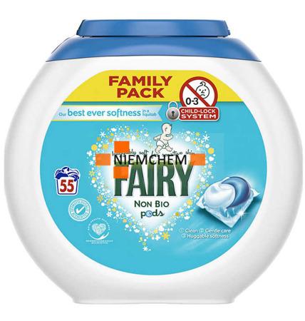 Fairy Non Bio Sensitive Kapsułki do Prania 55szt UK