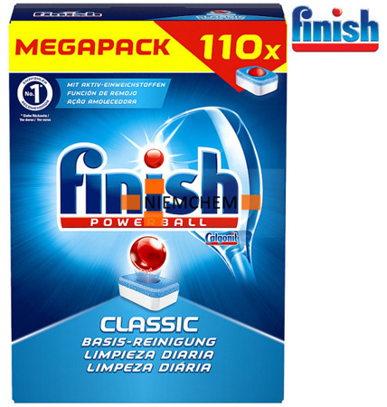 Finish Classic Tabletki do Zmywarki 110szt DE