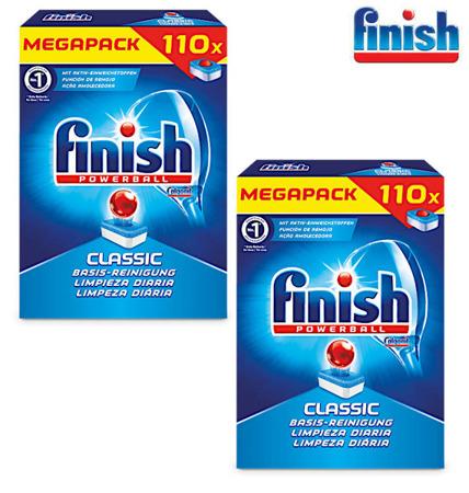 Finish Classic Tabletki do Zmywarki 2 x 110= 220szt DE