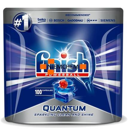 Finish Quantum Max Tabletki do Zmywarki 100szt XL PL