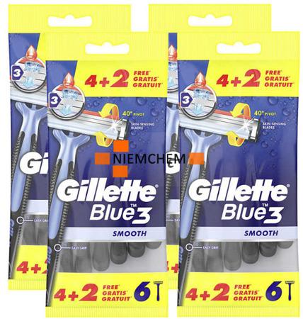 GIllette Blue 3 Maszynka Zestaw 24 szt UK
