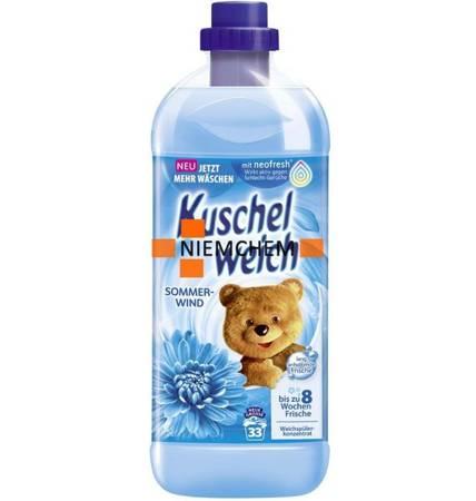 Kuschelweich Sommerwind Płyn Niebieski 1L 34pr DE