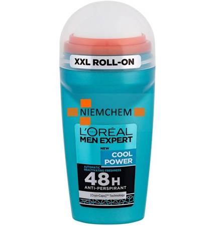 Loreal Men Expert Cool Power Antyperspirant Roll On XXL 50ml UK