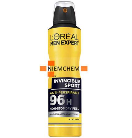 Loreal Men Expert Invincible Sport Dezodorant Spray 250ml UK