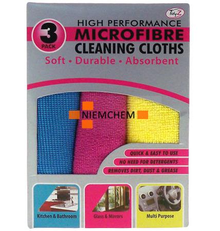 Mikrofibra Ściereczki Zestaw do Sprzątania 3szt UK