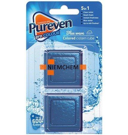 Pureven Blue Barwiąca Kostka do Spłuczki WC x2  UK